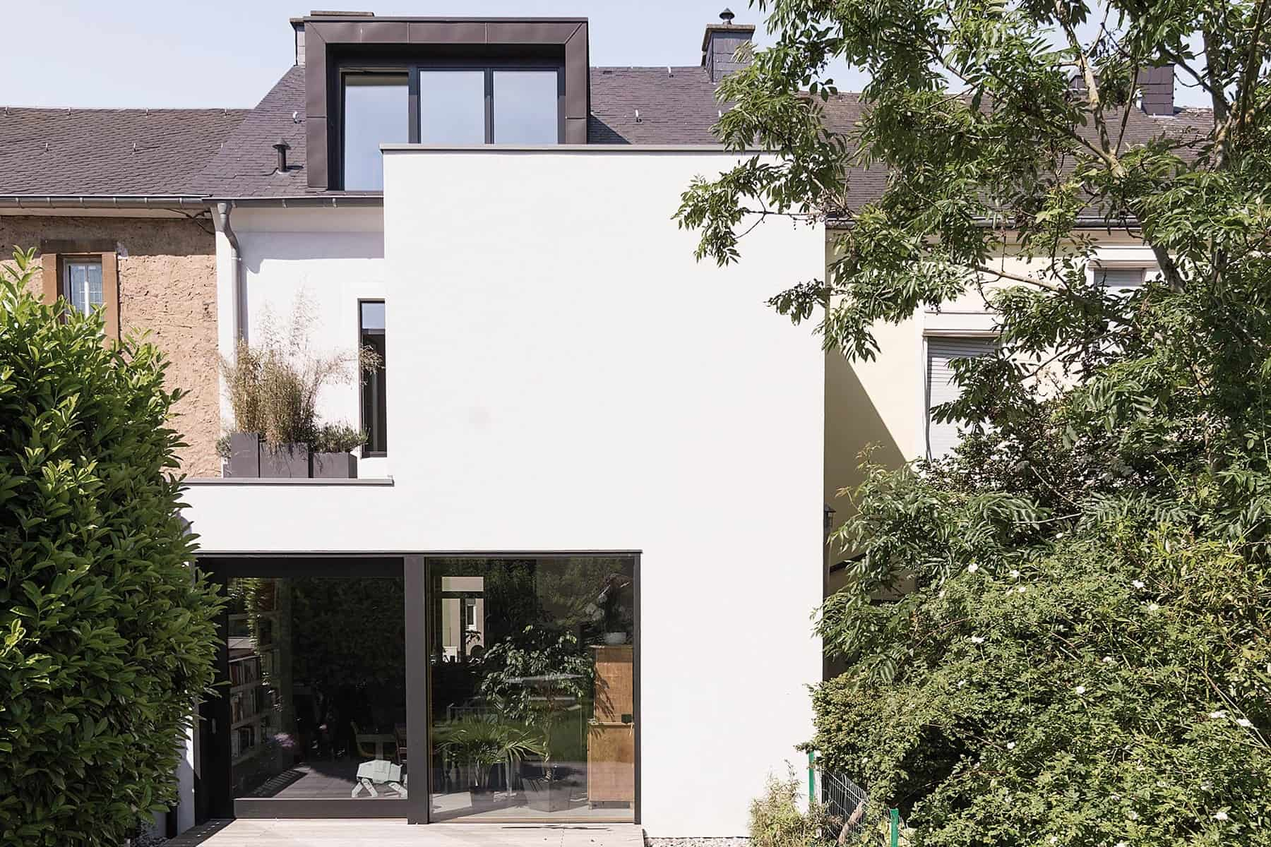 "Projet ""Transformation et extension de la maison MEYERS-RAUS"""